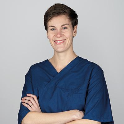 Bild på tandläkare Joanna Ausmann
