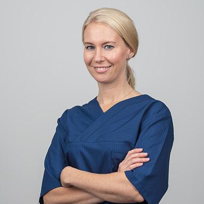 Profilbild tandläkare Maria Samlin